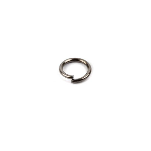 Gunmetal Plated Iron Jumprings 6mm 0.8mm Thick Pk100