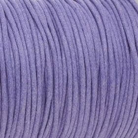 Waxed cord / lavender cord / 2.0mm / 1m