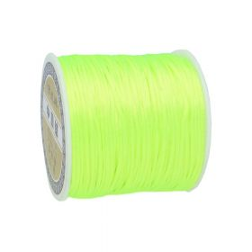 Satin cord / 1.5mm / neon green / 70m