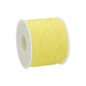Macramé™ / Macramé cord  / nylon / 0.6mm / yellow / 135m