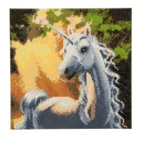 "Beads Direct ""Sunshine Unicorn"" Framed Crystal Art Kit 30x30cm"