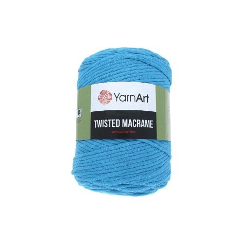 YarnArt ™ Macrame Twisted / cord / 60% cotton, 40% viscose and polyester / colour 786 / 500g / 210m