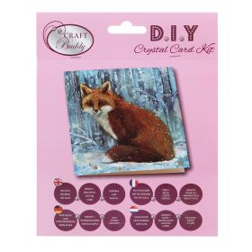 Beads Direct 'Winter Fox' Crystal Card Kit