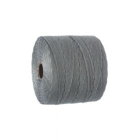 BEADSMITH ™ / thread SuperLon Fine / nylon / Tex 135 / Smoke / 0.5mm / 108m